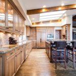 Nowoczesne połączenie kolorów w kuchni